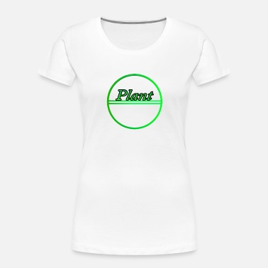 Plant Grounds Plant - Women's Organic T-Shirt
