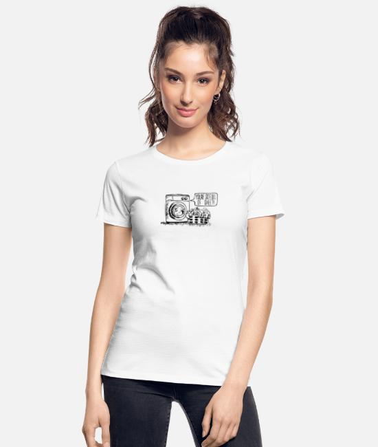 Pop Art T-Shirts - Full of Sheet - Women's Organic T-Shirt white