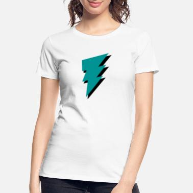 Relampago Bolt - Flash - Lightning -Trueno - Thunder - Zeus - Women's Organic T-Shirt