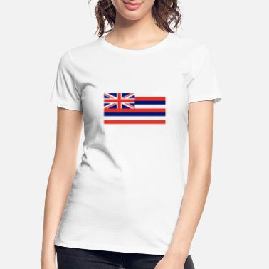 State Flag Hawaii State Flag - Women's Organic T-Shirt