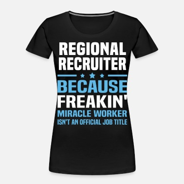 Region Regional Recruiter - Women's Organic T-Shirt