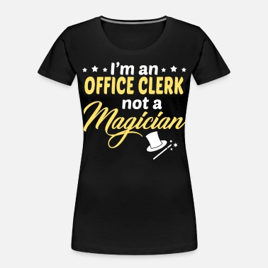 Office Office Clerk - Women's Organic T-Shirt