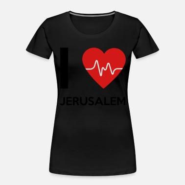 I Love Heart Jerusalem Black Kids Sweatshirt