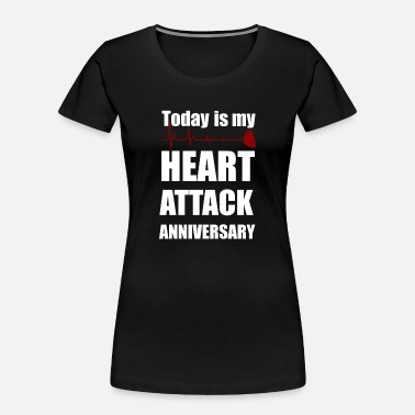 Arrest Heart attack anniversary - Women's Organic T-Shirt