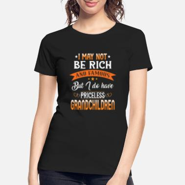 Do Work Son Priceless Grandchildren - Women's Organic T-Shirt