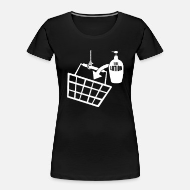 Ltion Basket It puts the Lotion in the Basket - Buffalo Bill - Women's Organic T-Shirt