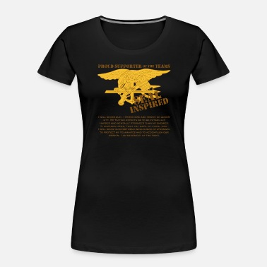 Seal SEALs Inspired Creed - Women's Organic T-Shirt