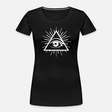 All Seeing Eye All Seeing Eye - Women's Organic T-Shirt