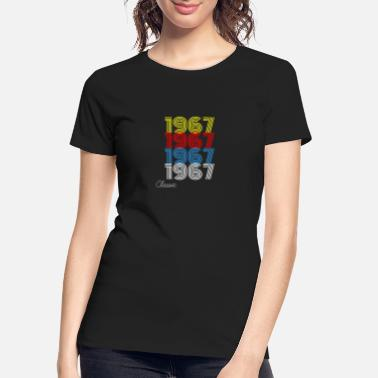 Vintage 1967 Vintage 1967 T-Shirt Men Women Birthday Gift - Women's Organic T-Shirt