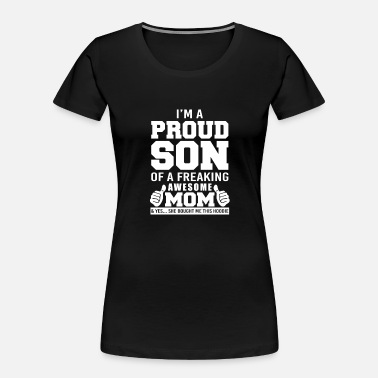 Schland Proud son - my mom bought me this hoodie - Women's Organic T-Shirt