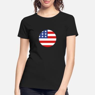 United States - Women's Organic T-Shirt