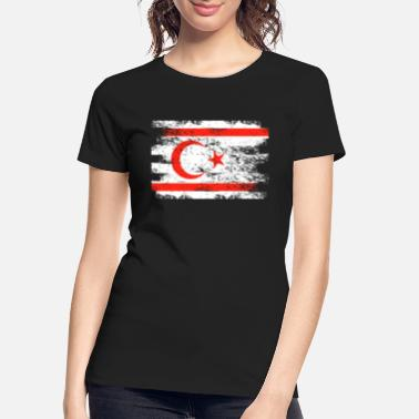 Cyprus Northern Cyprus Shirt Gift Country Flag Patriotic Travel Asia Light - Women's Organic T-Shirt