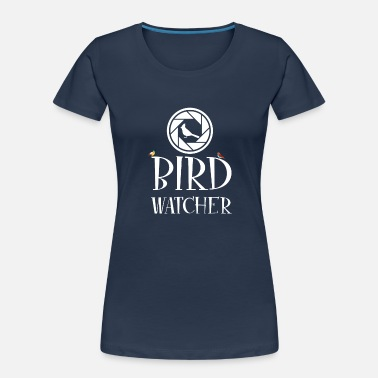 Bird Watcher Birdwatcher - crane stork falcon pigeon - Women's Organic T-Shirt