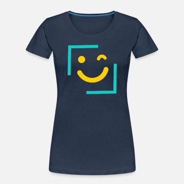 Emoticon Wink Smiley Emoticon - Women's Organic T-Shirt