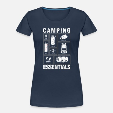 Shop Camping Essentials T Shirts Online Spreadshirt