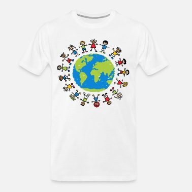Children children around the world - Men's Organic T-Shirt