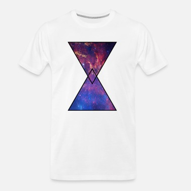 Timeless Hourglass Galaxy - Men's Organic T-Shirt