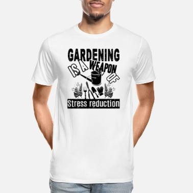 Gardening Is A Weapon Shirt - Men's Organic T-Shirt