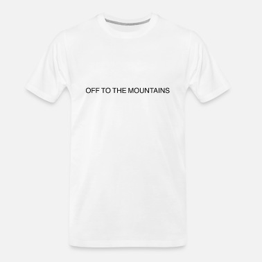 Teeing Off Off to the Mountains tee - Men's Organic T-Shirt