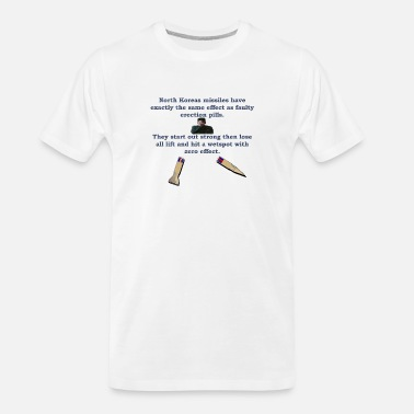 Dictatorship North Koreas Dongless Missile - Men's Organic T-Shirt