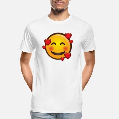 love smile - Men's Organic T-Shirt