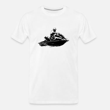 Jet Jetski - Jet-ski - Boatercycle - Water scooter - Men's Organic T-Shirt