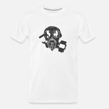 Mask Gas Mask - Men's Organic T-Shirt
