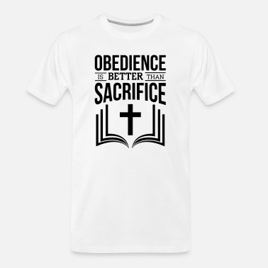 Obedience Obedience - Men's Organic T-Shirt