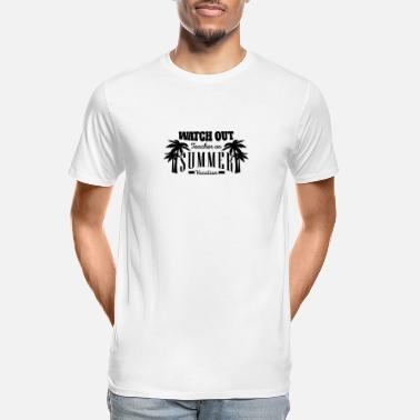 Watch Out Watch Out Teacher - Men's Organic T-Shirt
