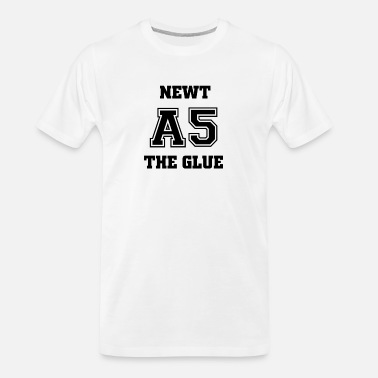 Newt Newt A5 The Glue Newtmas Thomas Maze Runner Movie - Men's Organic T-Shirt
