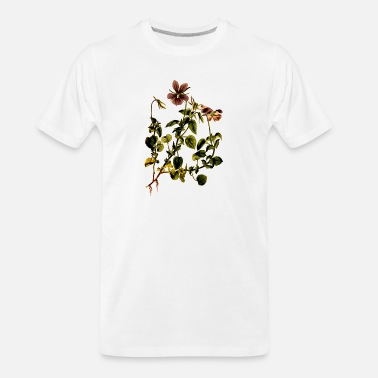 Jagged Peak Horned violet - Men's Organic T-Shirt