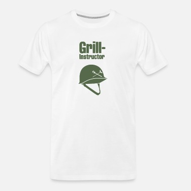 Grill Instructor Grill Instructor - Men's Organic T-Shirt