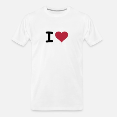 I Heart I HEART - Men's Organic T-Shirt