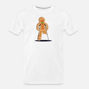 Gingerbread Man gingerbread man - Men's Organic T-Shirt