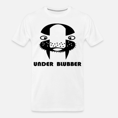 Blubber Under-blubber - Men's Organic T-Shirt