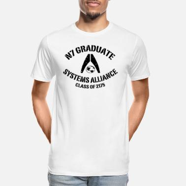 Mass Effect N7 Graduate - Men's Organic T-Shirt