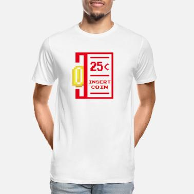 insert coin retro - Men's Organic T-Shirt