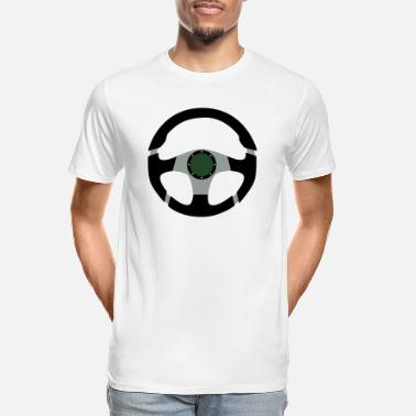 Steering Wheel Steering Wheel - Men's Organic T-Shirt
