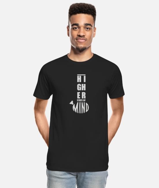 Movie T-Shirts - Higher State of Mind - Men's Organic T-Shirt black