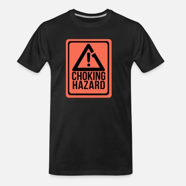 Hazard Choking Hazard - Men's Organic T-Shirt