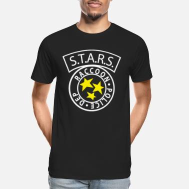 Resident STARS RACCOON City Police inspired by Resident Evi - Men's Organic T-Shirt
