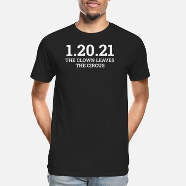 01 01/20/21 The End of an Error January 21st 2021 Ant - Men's Organic T-Shirt