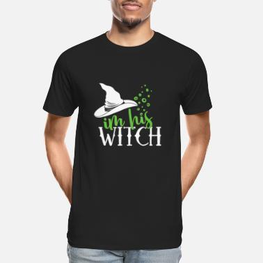 I M His Witch I m His Witch Shirt Matching Halloween Tee - Men's Organic T-Shirt