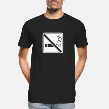 Non-smoking non smoking - Men's Organic T-Shirt
