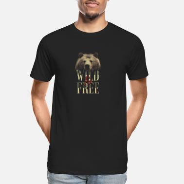 Wild And Free Wild and Free - Men's Organic T-Shirt