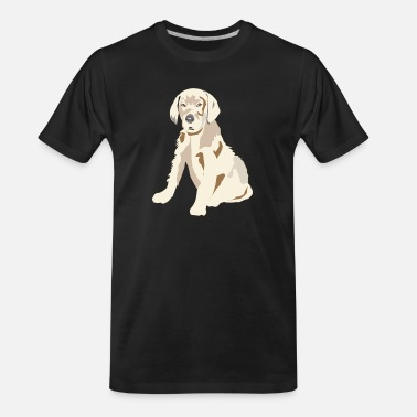 Labrador Retriever Puppy - Men's Organic T-Shirt
