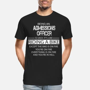 Admission Admissions Officer - Men's Organic T-Shirt
