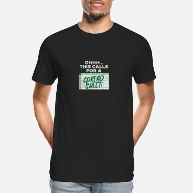 Credit Ohhh This Calls For A Spreadsheet - Men's Organic T-Shirt