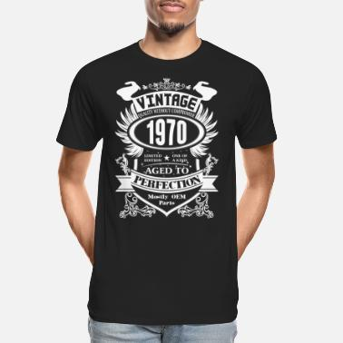 Perfection Vintage 1970 Aged To Perfection - Men's Organic T-Shirt