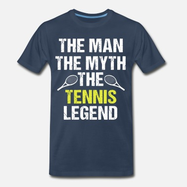 I Love Tennis! - Men's Organic T-Shirt